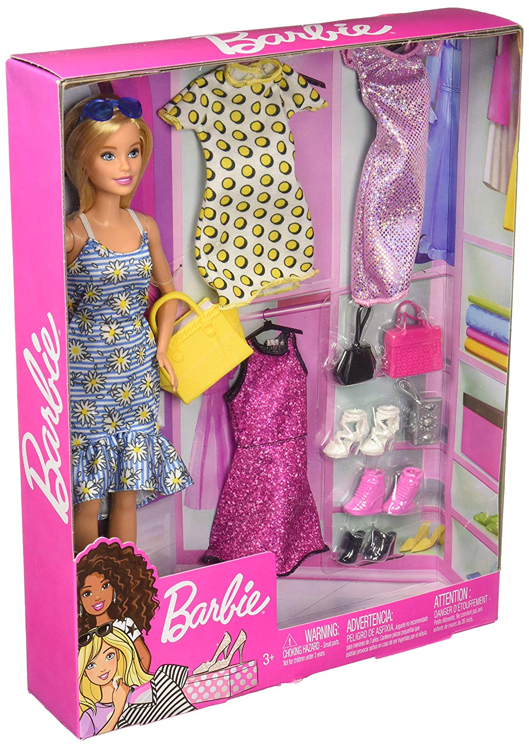 Barbie Fashion Doll With Accessories Multicolor - Height 29 Cm GDJ40