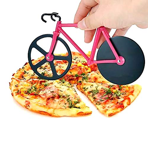 Bicycle Pizza Cutter (Stainless Steel Pizza Cutter)