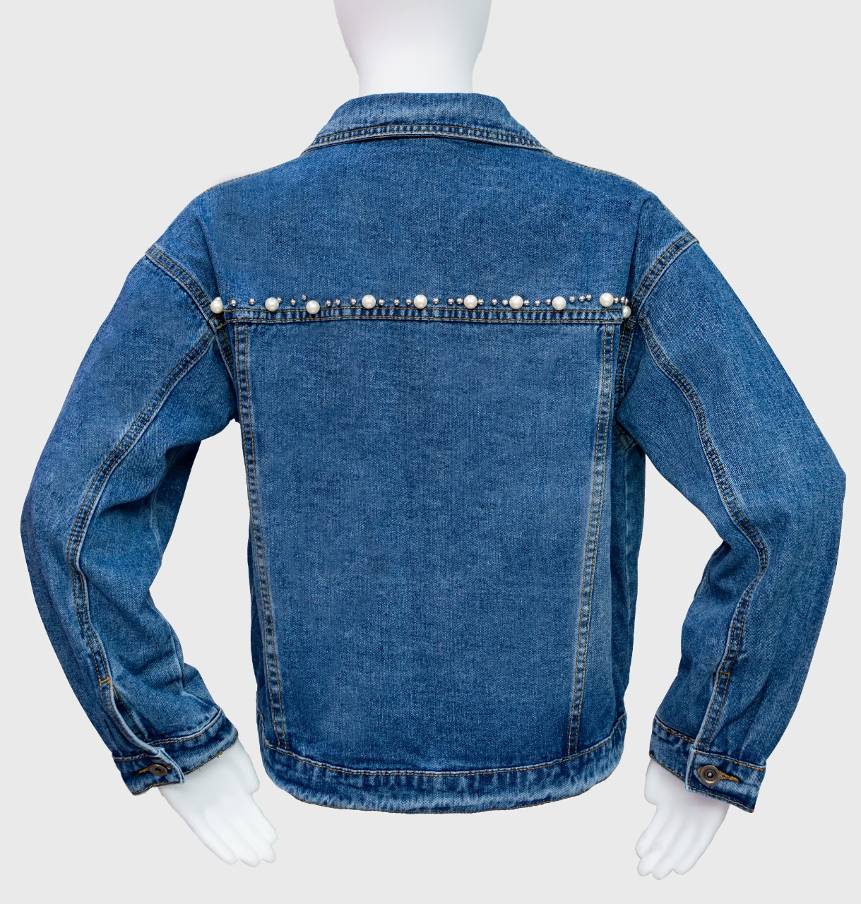 Denim Jacket (XL,Denim Blue)