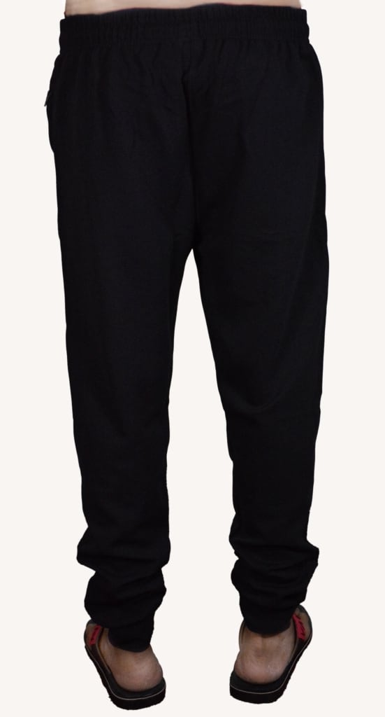 Wiluminaty Men's Joggers - Black (Small)