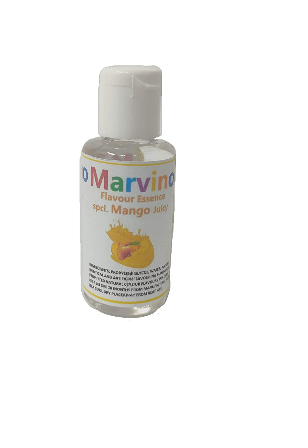 Marvino 6 Fruit Flavour Essence Extracts Pineaple Banana Strawbery Mango Orange Apple For Flavouring Cakes Sweets Choclates Icecreams