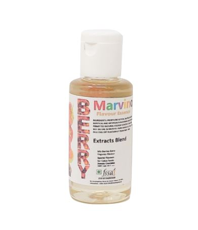 Marvino 5 Delicious Flavour Essence Extracts Royal-Rose Red-Velvet Berry-Mix Strawberry Coffee For Flavouring Cakes Sweets Choclates Icecreams