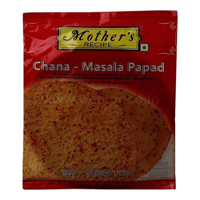Mother's Recipe Chana Masala Papad 200 G