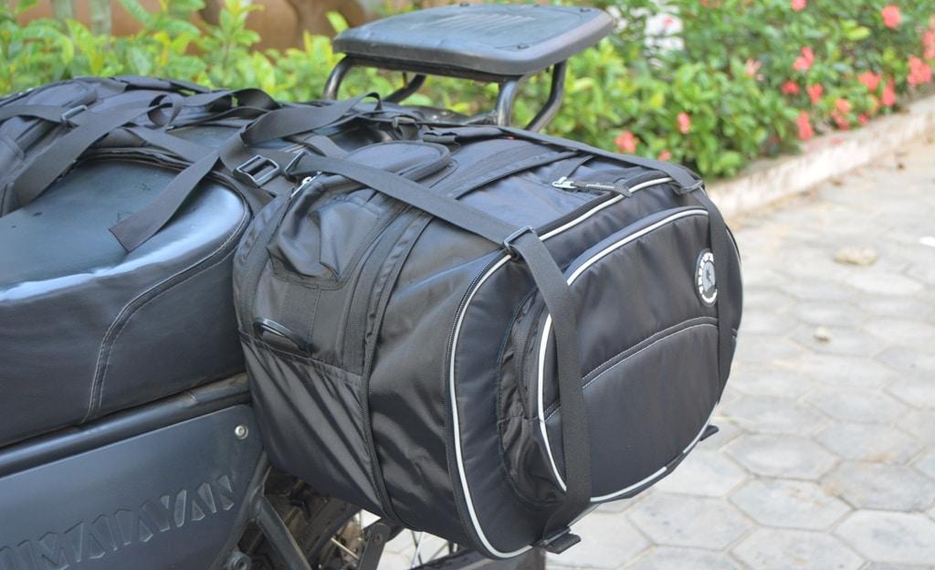 Waterproof Motorcycle Saddle Bag - Sportz