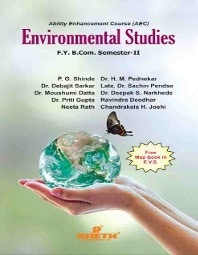 Sheth Environmental Studies F Y B Com  Sem-2 Shinde (EVS) - B COM BOOKS -  Deepak Book Store