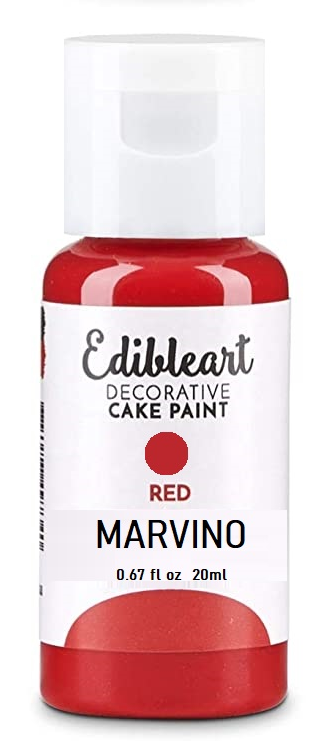 Marvino Edible Decorative Colors Gel Color Red