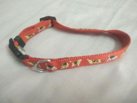 Smarty Pet Dog Print Collar