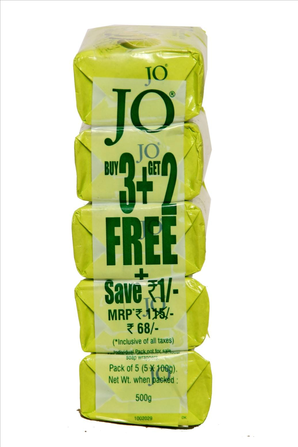 Jo Sparkling Fresh Lime Bathing Soap Buy 3 Get 2 Free