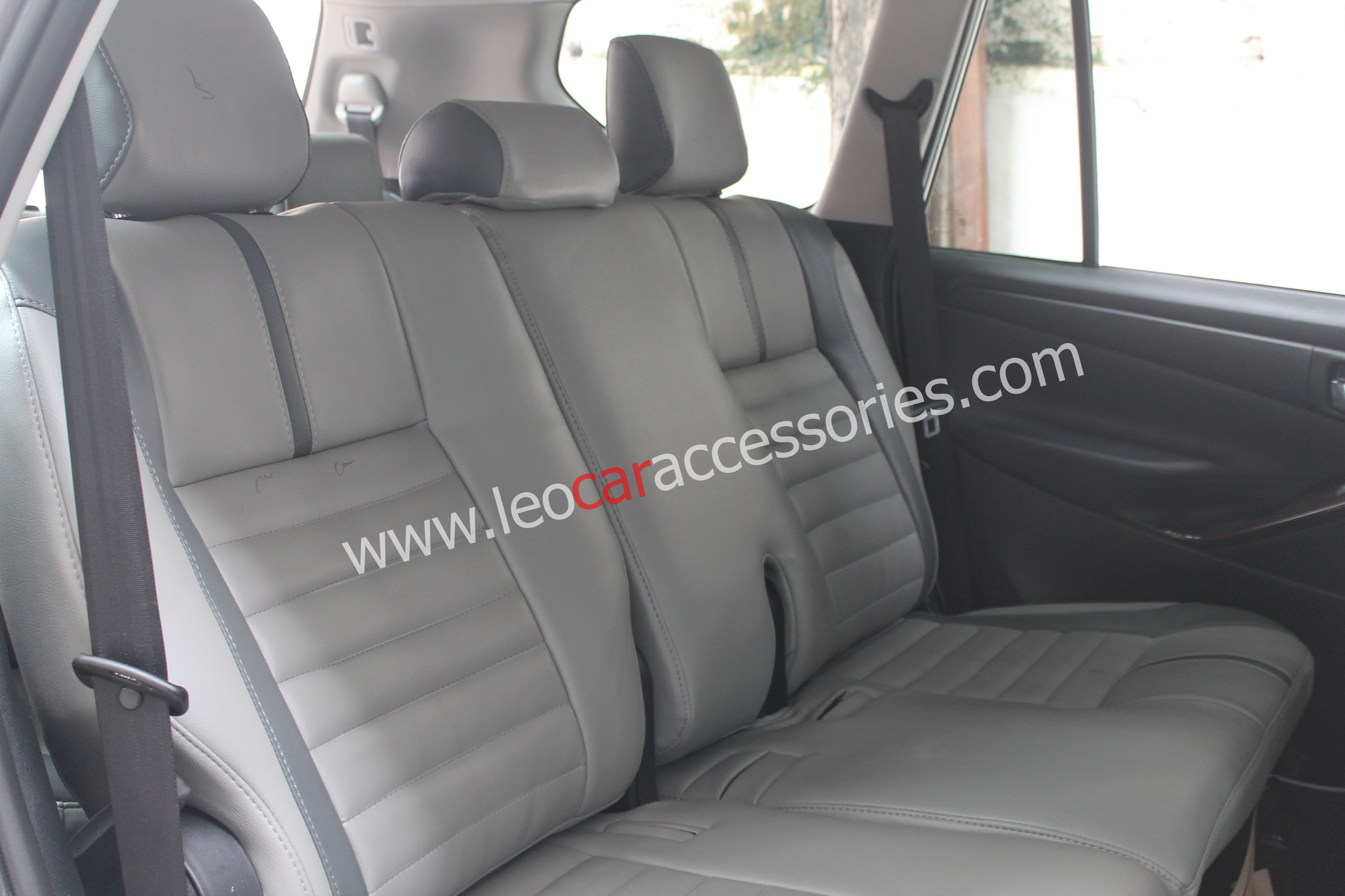 Feather Customized Car Seat Cover For Innova Crysta
