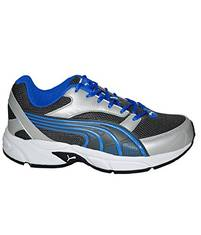 0481213aa Puma Mens Pluto DP Silver And Blue Running Shoes - 7 UKIndia 405 EU