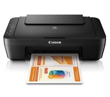 Canon MG2570S Multi-Function Color Inkjet Printer (Black)