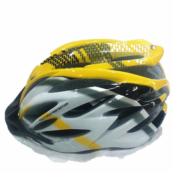 Adjustable Cycling Helmet BT 320 (XL,Yellow)
