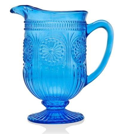 Godinger Medallion Pitcher-Blue 30 Oz [34214]