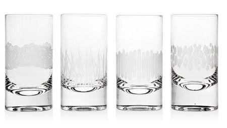 Godinger Galleria Set Of 4 Highball Glasses [48081]