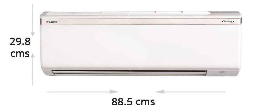 Daikin 1.5 Ton Inverter 3 Star Rating Copper ETKL50TV16U Split AC (White)