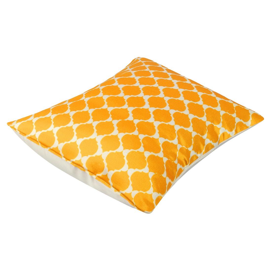 "Sattva Premium Digital Printed Cushion Cover CU016 With Filler Multicolor - Size 16""x16"""