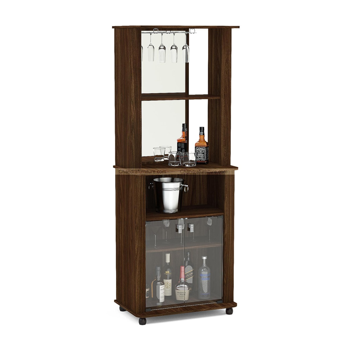 Chandra Furniture Javier Bar Cabinet