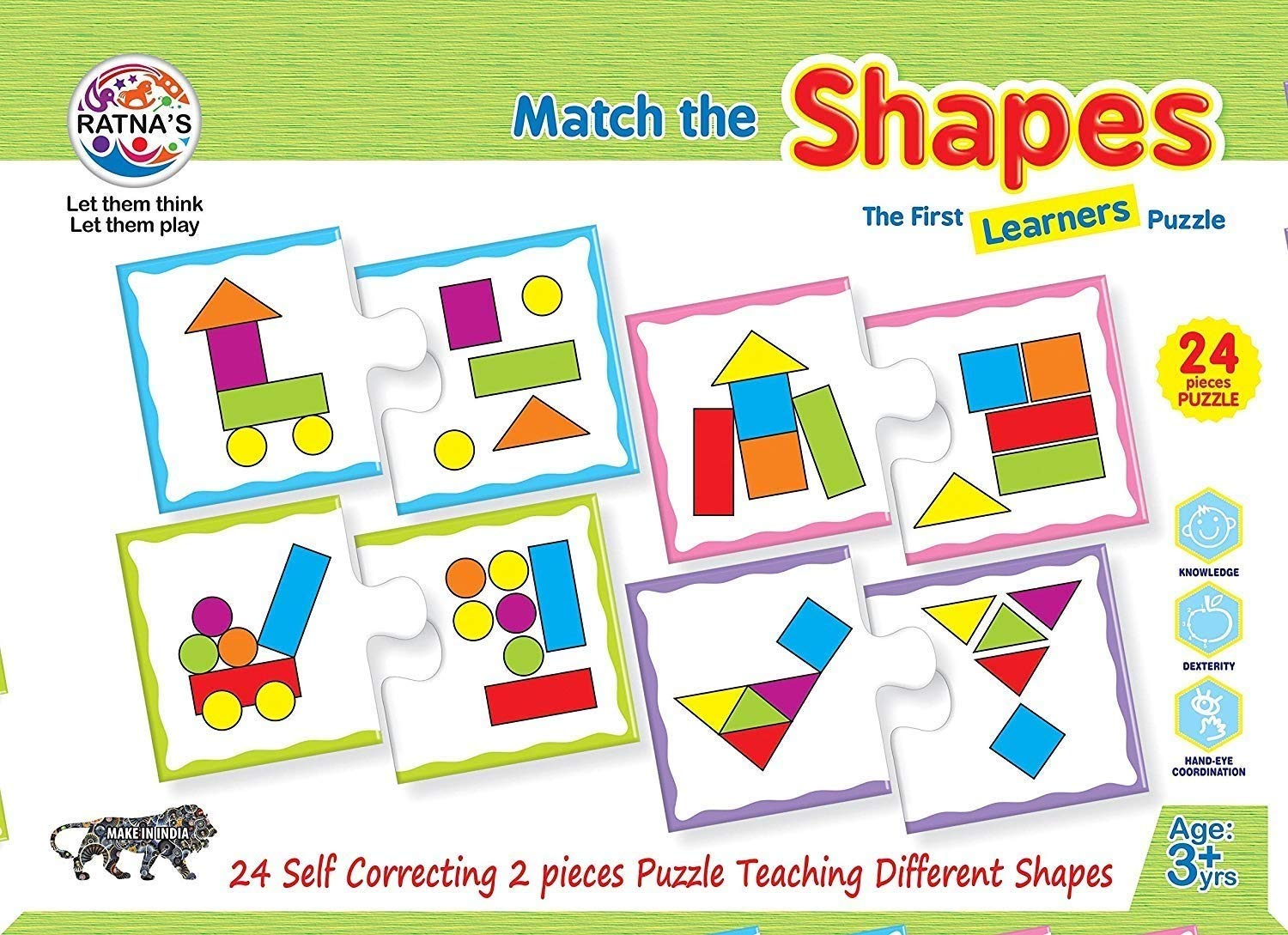 Match The Shapes Jigsaw Puzzle