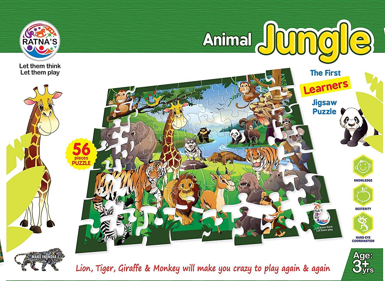 Animal Jungle Jigsaw Puzzle