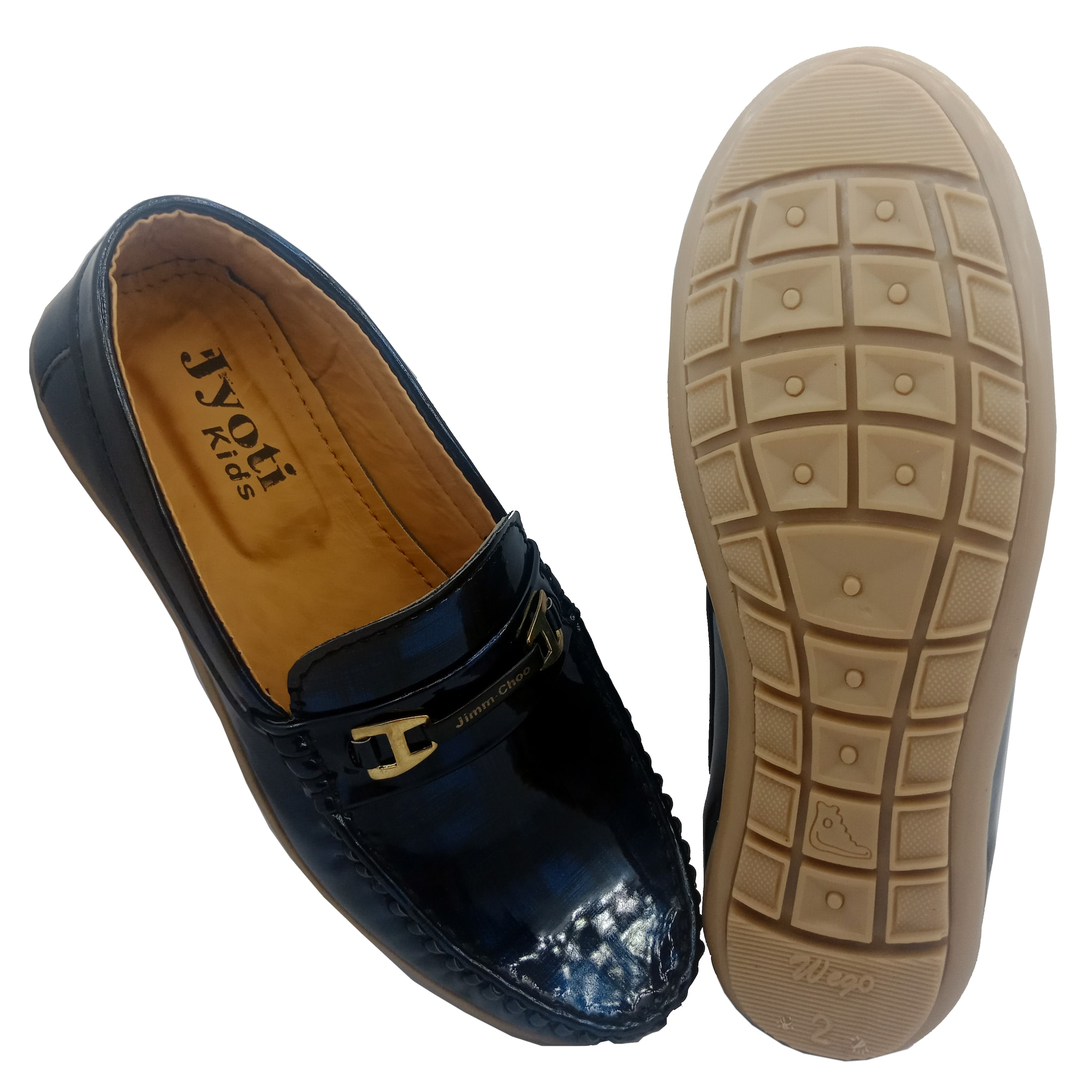 A.P.S  KID'S COMFORTABLE STYLISH TRENDY & FASHIONABLE SHOES APS035K (BLUE,2-5,8 PAIR)