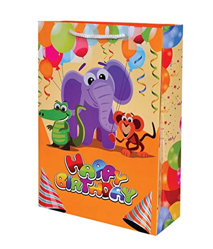 Elephant Theme Paper Bags