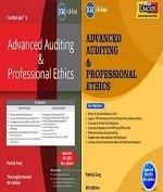 Taxmann Combo Advanced Auditing And Professional Ethics Main Book & CRACKER New Syllabus By Pankaj Garg Applicable For November 2021 Exam
