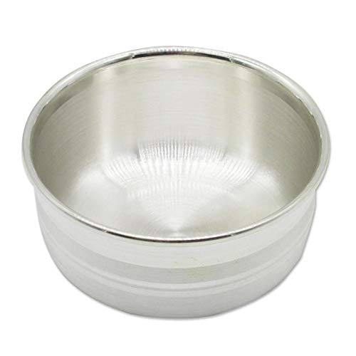 Silver Chanderi Bowl/Vatti With 97% Purity (25gm)