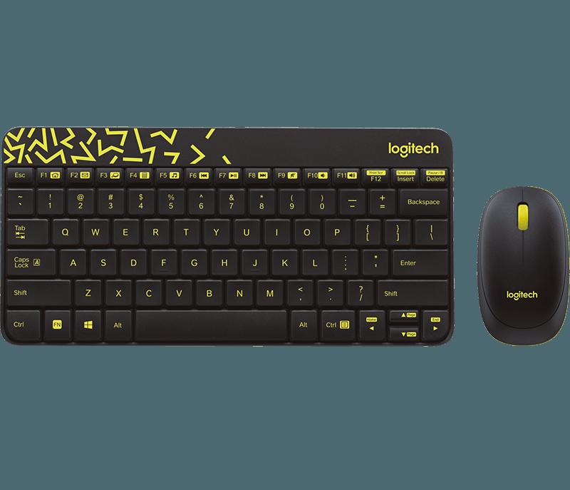 Logitech MK240 NANO Wireless Keyboard And Mouse Combo