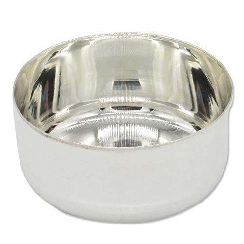 Silver Plain Bowl/Vatti With 97% Purity (30gm)
