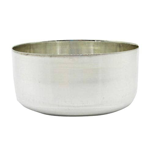 Silver Plain Bowl/Vatti With 97% Purity (25gm)