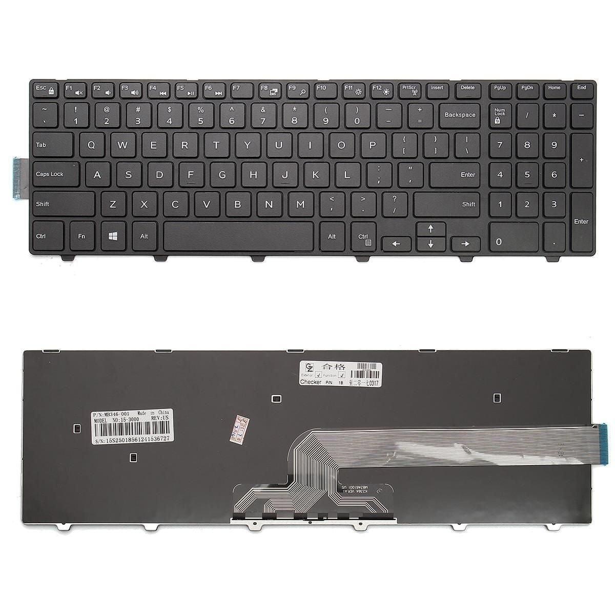 Dell INSPIRON 3552 Laptop Replacemet Keyboard