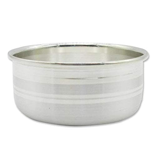 Silver Chanderi Bowl/Vatti With 97% Purity (30gm)