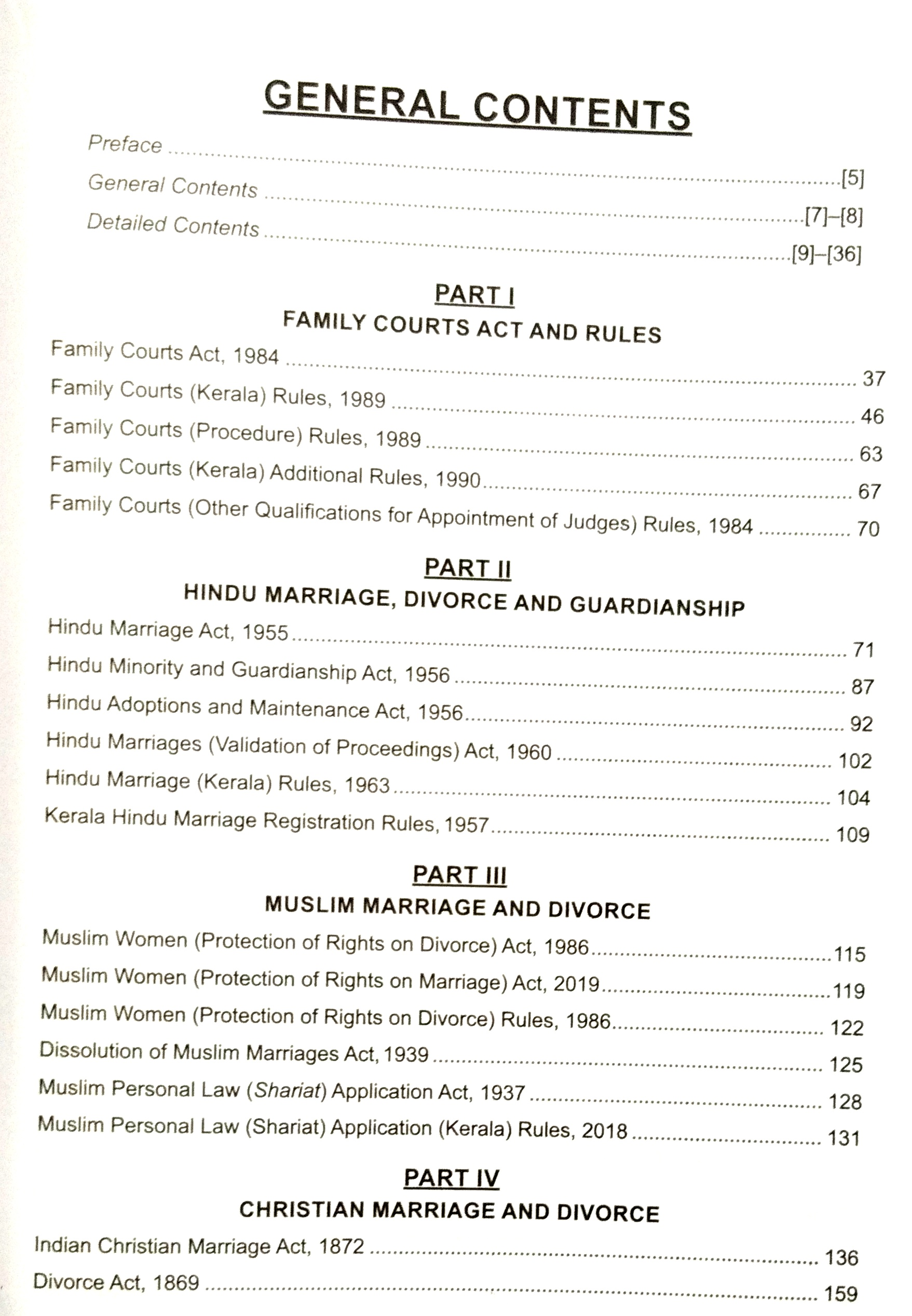 Concise Family Cout Laws In Kerala (3rd Edn.2021)