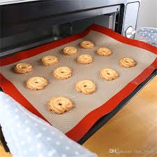 16.5 X 11 Inches Silicone Baking Mat For Half Size Cookie Sheet - Divena In