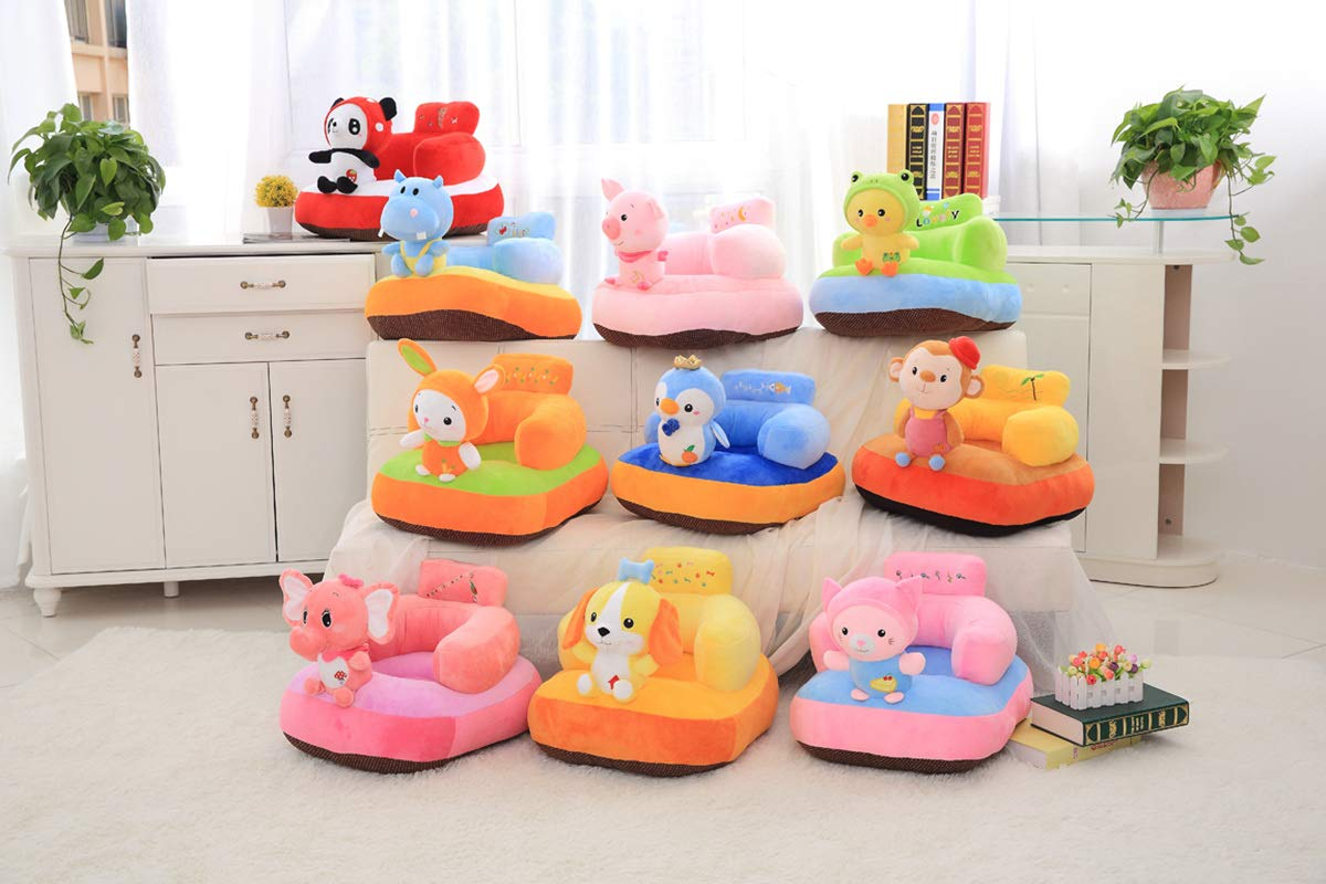 Baby Soft Plush Cushion Baby Sofa Seat Or Rocking Chair For Kids
