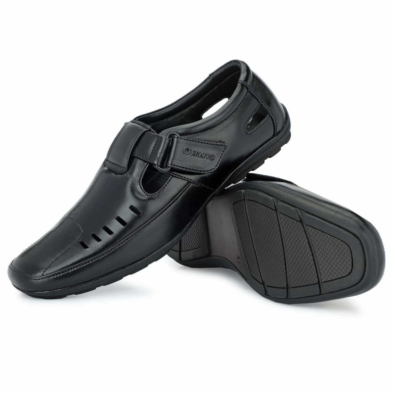 SANDALSMS125 (BLACK,6-10,8 PAIR)