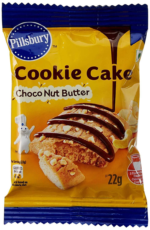 Pillsbury Choco Nut Butter Cookie Cake 22 Gm