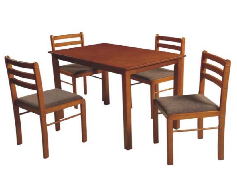 Wooden Dining 303 4+1