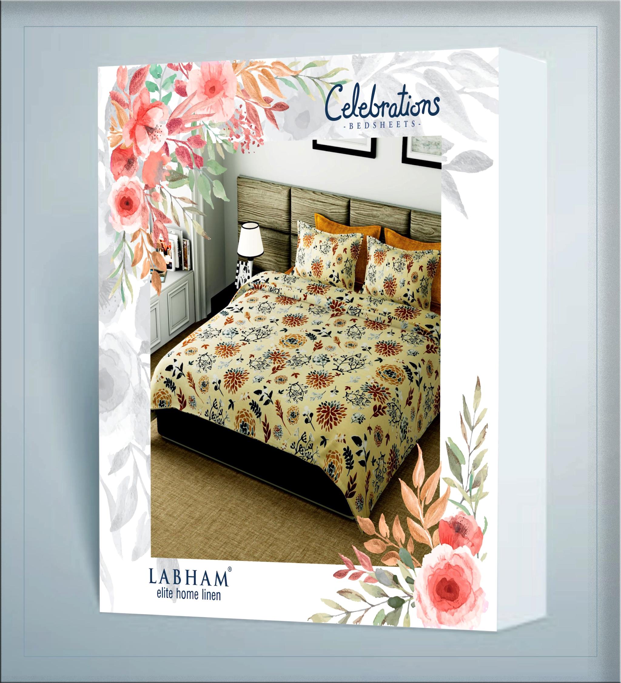 CELEBRATIONS BED SHEETS (CA1953A)