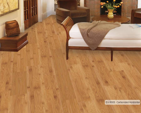 Euro Bamboo EU-9003 Carbonized Horizontal Wooden Flooring