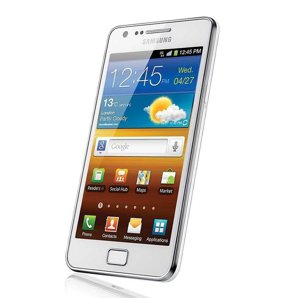 Samsung Galaxy S II GT-I9100 Smartphone (White)
