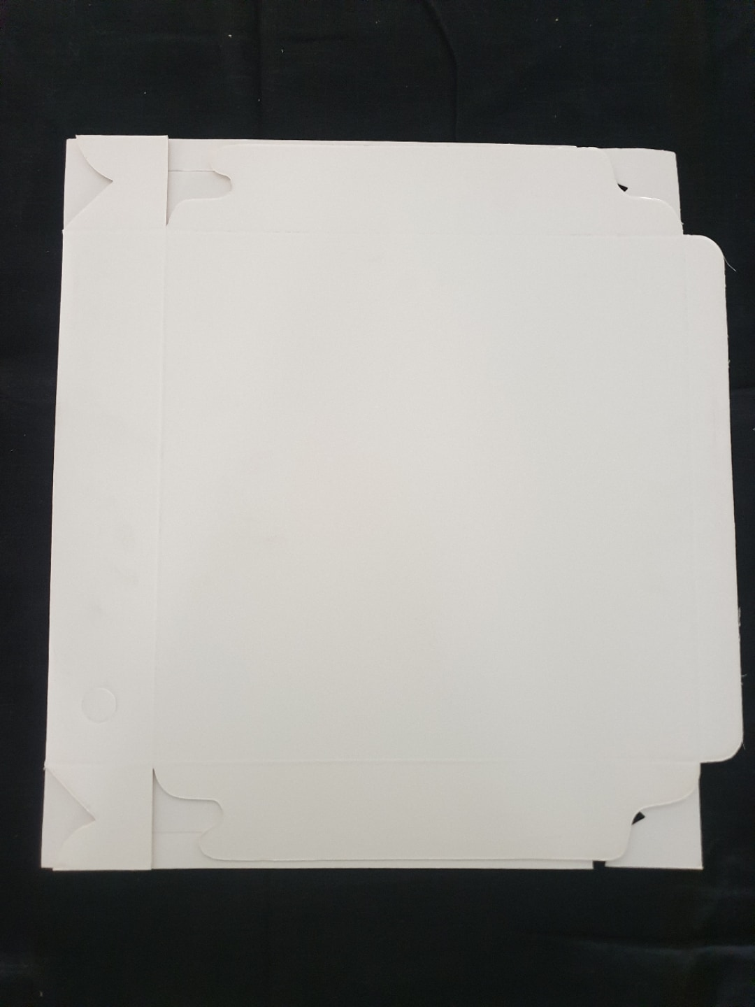 White Pizza Box 10x10x2""
