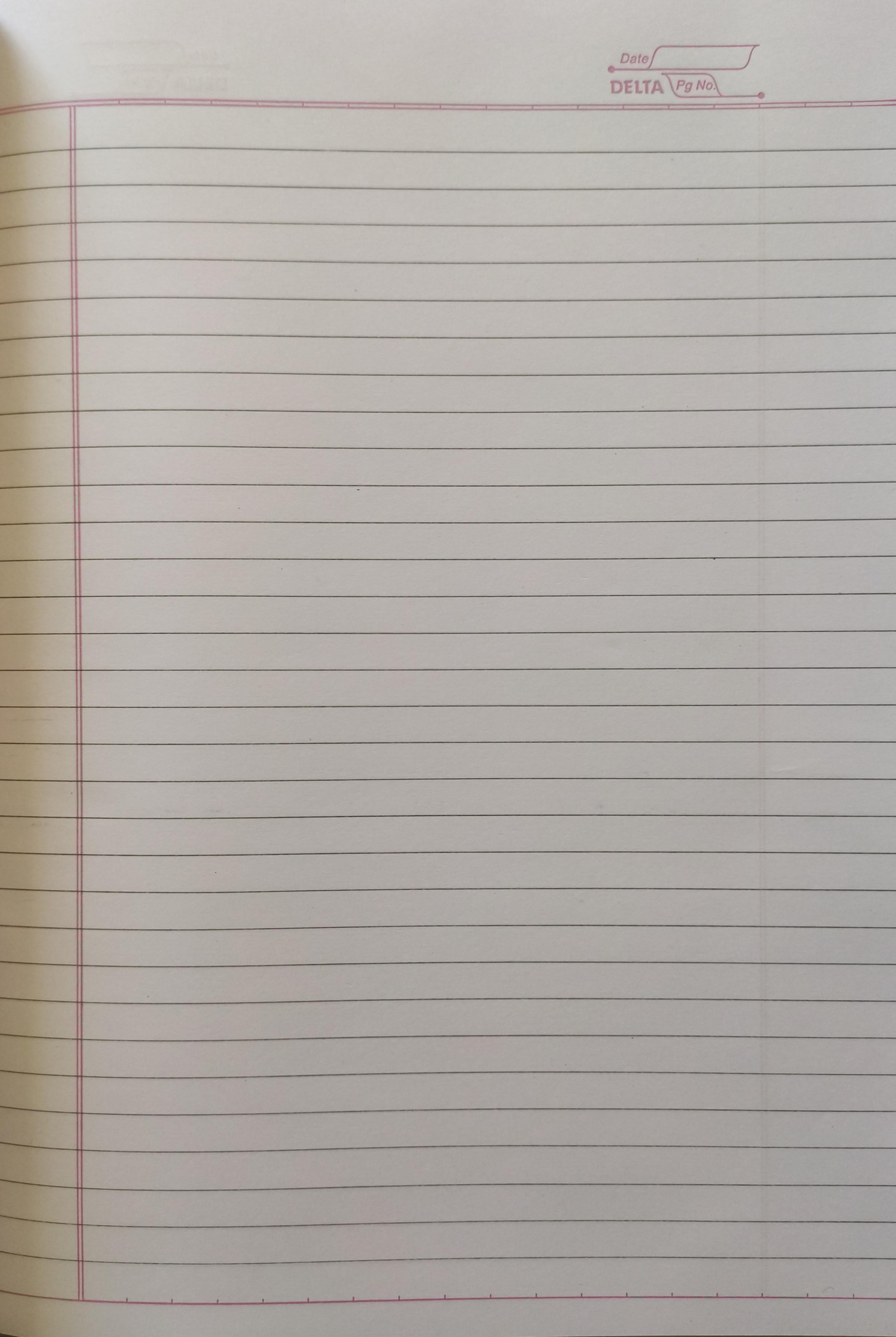 Vowel Register A4 Size, 272 Pages - 5 Variants (1 Register)