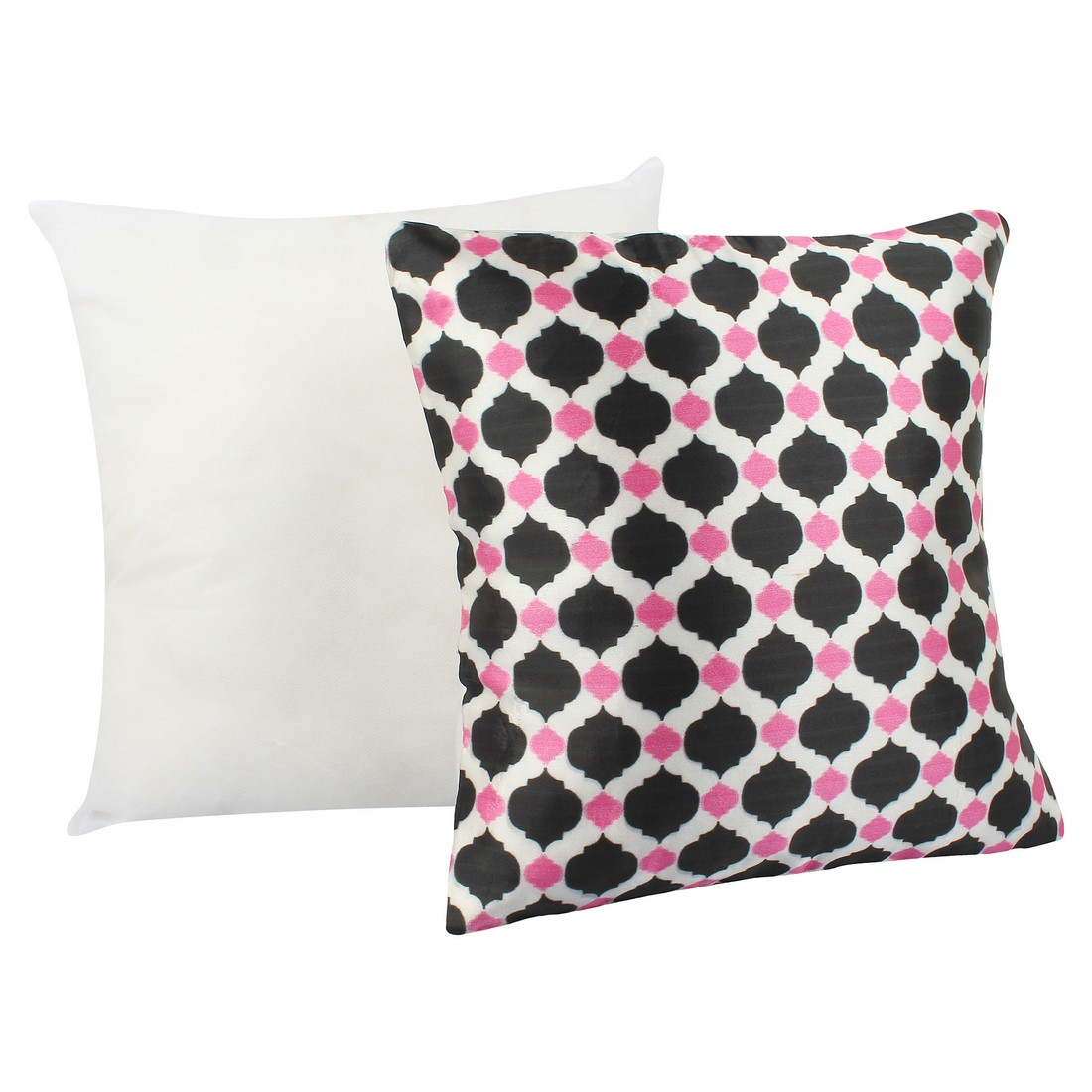"Sattva Premium Digital Printed Cushion Cover CU09 With Filler Multicolor - Size 12""x12"""