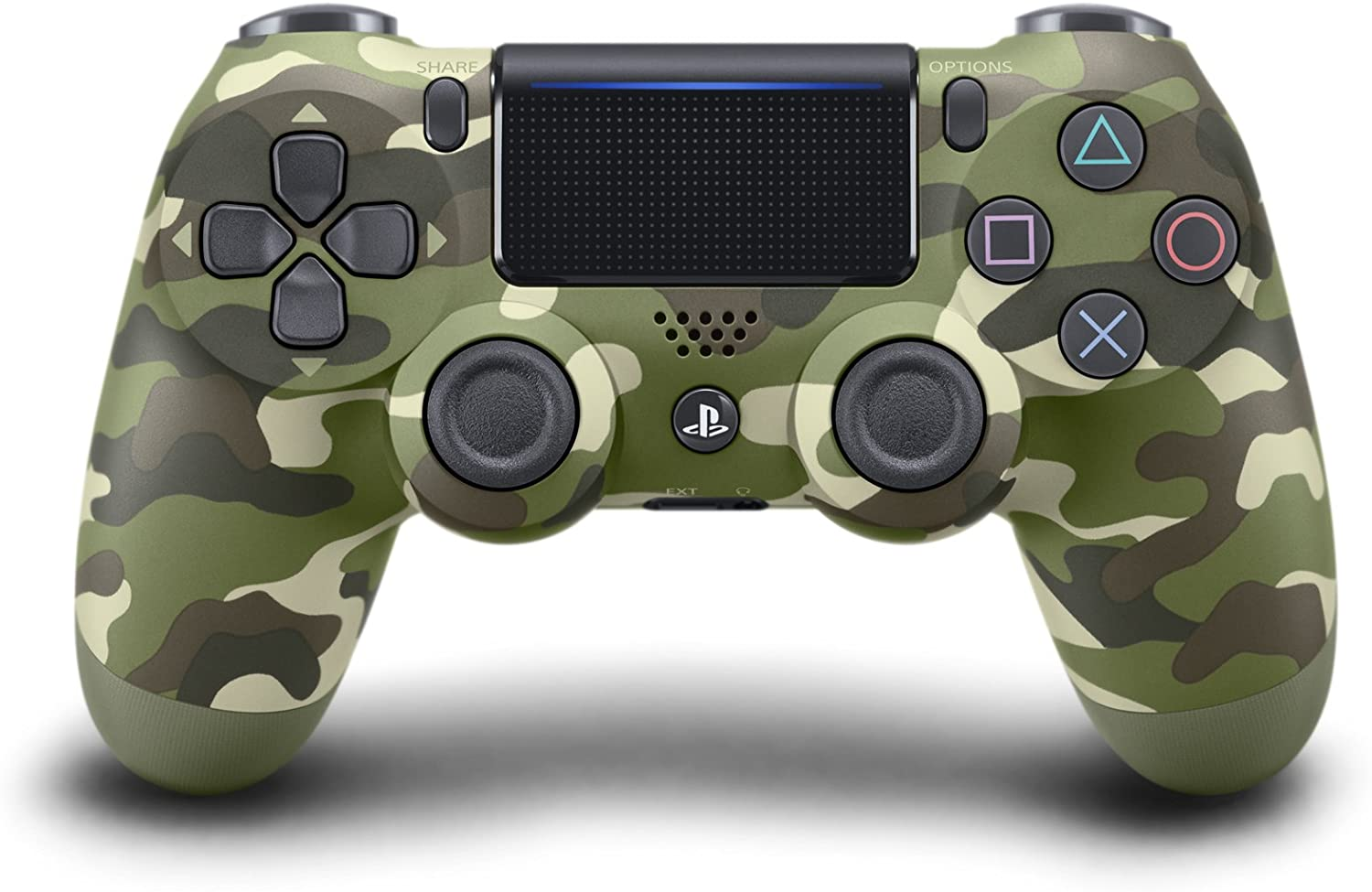 Dualshock 4 Wireless Controller For Playstation 4 - Green Camo V2
