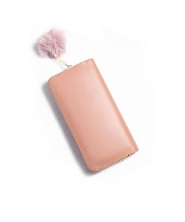 Stone Print Hand Clutch For Women (FS,Nude Pink)