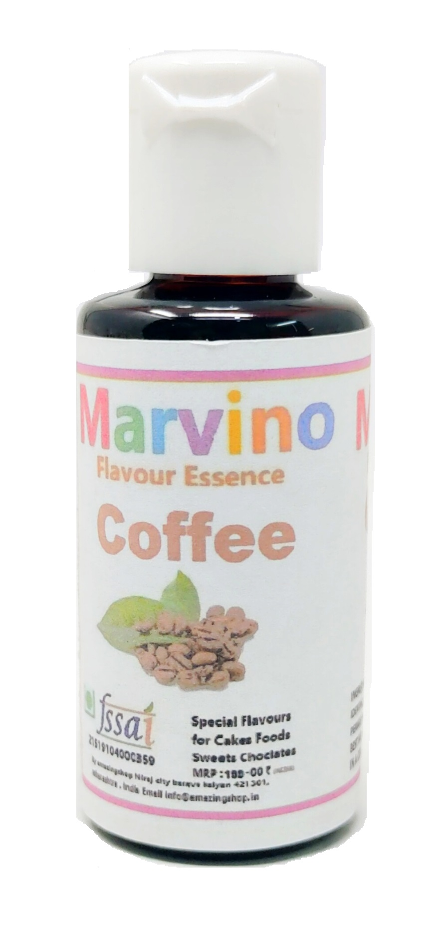 Marvino 12 Just Arrived Flavour Essence Extracts For Flavouring Cakes Sweets Choclates Icecreams And Shakes