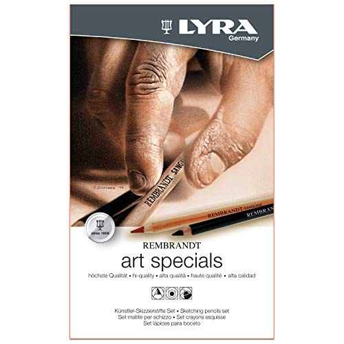 LYRA Rembrandt Art Special Set 11 Pcs Metal Box (L2051120)