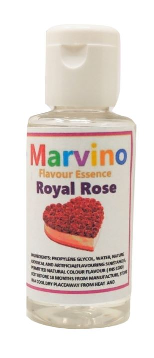 Marvino Set Of 12 Perfect Flavour Essence Extracts For Flavouring Cakes Sweets Choclates Icecreams Shakes