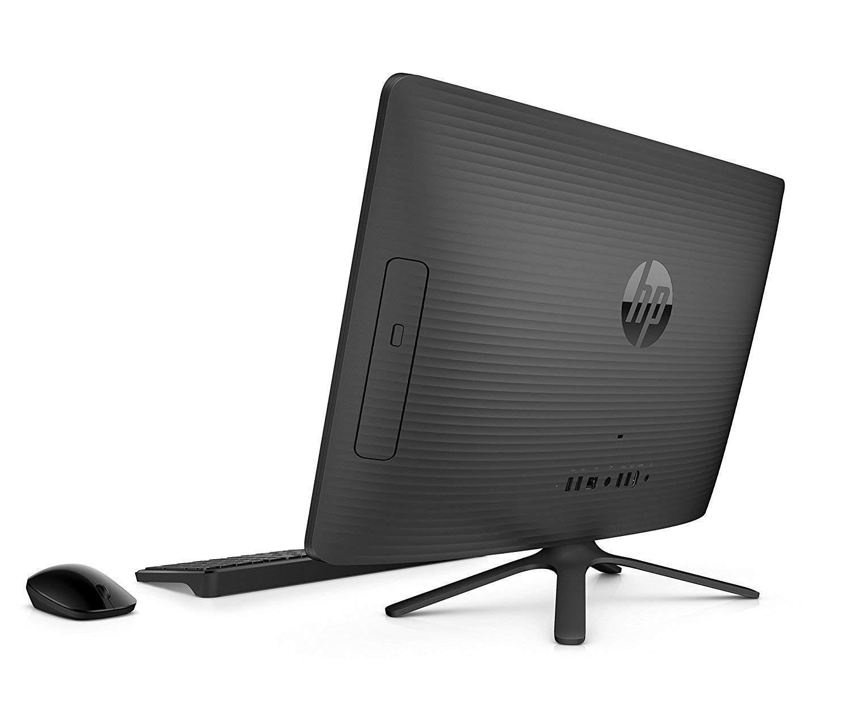 HP 20-c323il 2018 19.5-inch All-in-One Desktop (AMD Dual-Core E2-9000 APU/4GB/1TB/DOS/Integrated Graphics), Black